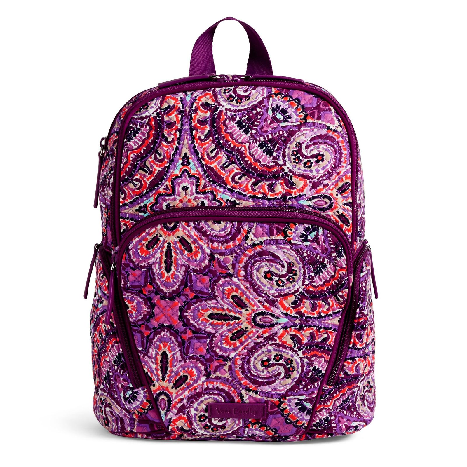 Vera Bradley Quilted Signature Cotton Hadley Backpack, Dream Tapestry