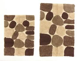 2 Piece Bath Rug Set Mat Shower Carpet Bathroom Floor Rugs Soft Cotton A... - $22.83