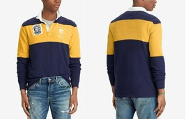 Polo Ralph Lauren Men's Classic-Fit Jersey Rugby Patch Polo Shirt, Size XXL,$168 - $78.53