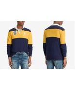 Polo Ralph Lauren Men's Classic-Fit Jersey Rugby Patch Polo Shirt, Size ... - $78.53