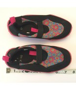 Little Girls Toddler Water Shoes Size L Large 9 - 10 Pink Black Swim Bea... - $9.99