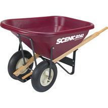 Scenic Road Maroon Parts Box For M8-2r Wheelbarrow 8 Cu Ft - $3.846,66 MXN