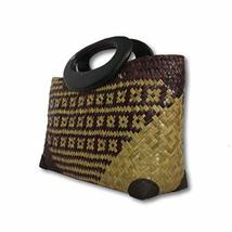 Coconutwoww Handwoven Straw Bag, Sedge Grass Tote Purse Bag, Boho Summer... - €33,38 EUR
