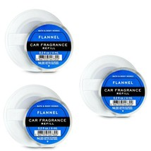 3 Bath & Body Works Scentportable FLANNEL Car Fragrance Refills - $14.01