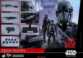 "Hot Toys Star Wars: Rogue One DEATH TROOPER 12"" Action Figure 1/6 Scale - $558.09"