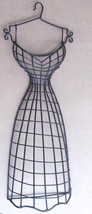 Original Handmade Designed Miniature Steel Wire Mannequin Women's Bustie... - $35.00