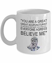 An item in the Pottery & Glass category: Acupuncturist Birthday Gift Mug You Are Great Funny White Novelty Ceramic Coffee