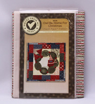 Quilt Kit - Owl Be Home for Christmas Sandy Gervais Holiday Quilting M41... - $29.97