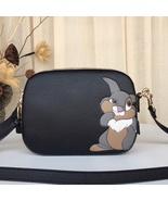 Coach Disney X Camera bag Bambi Thumper  black crossbody 69253 authentic - $399.00