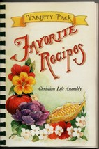 Lenexa KS 1996  Christian Life Assembly COOK BOOK Favorite recipes spira... - $8.96