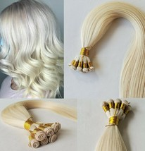 20″ Hand-Tied Weft Hair, 100 grams,100% Human Remy Hair Extensions #1001  - $217.79