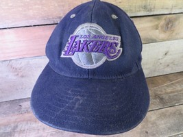 Los Angeles LAKERS Adidas NBA Fitted Size L/XL Baseball Hat Adult Cap - $11.57