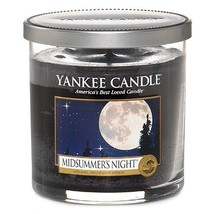 Yankee Candle Midsummers Night Small Pillar Candle, Black - $19.99