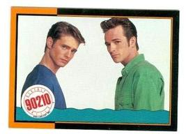 Jason Priestly and Luke Perry Beverly Hills 90210 trading card #71 - $4.00