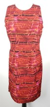 R&K Originals Sheath Dress 6P Red Sleeveless - $29.69