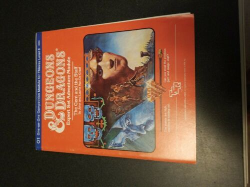 Vintage D&D O1 - The Gem and the Staff - TSR 9050 - $158.40