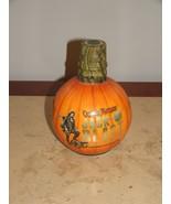 Captain Morgan HALLOWEEN JackO Blast Pumpkin Skull Rum Empty Bottle - $24.74
