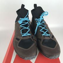 Nike Zoom Talaria Mid Flyknit Brown Gamma Blue Men's size 10 856957 200 NEW image 3