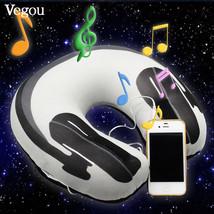 Musical Neck Pillow U Shaped Travelling Neck-Pillow Speaker Foam Rest Ai... - $632,31 MXN