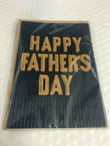 """Father's Day Card by Hallmark Signature ~ 3D Cork """"Happy Father's Day"""" - $7.49"""