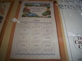 The Creative Circle Cross Stitch Kit 2339~Each New Day Calendar - $18.00