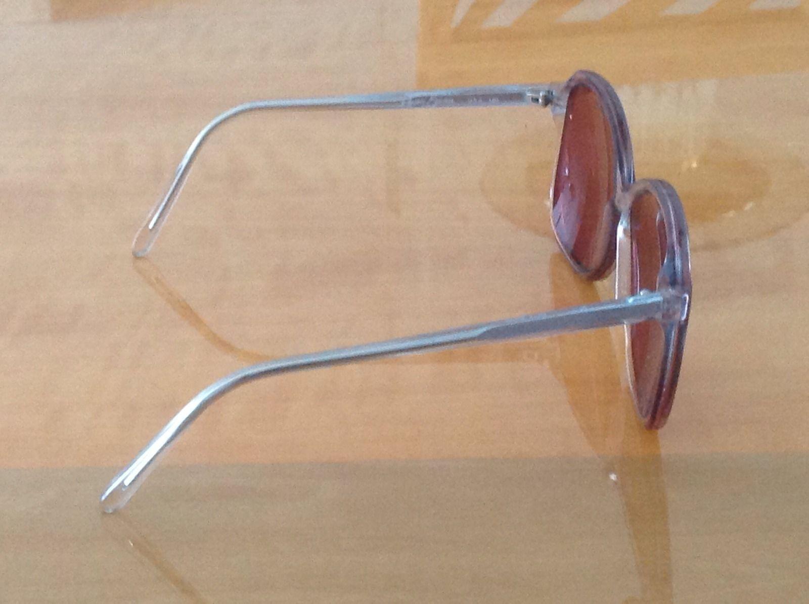 VTG Regency Eyewear Blue Rose Sunglasses by Tart Optical Clear Frames