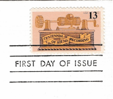 Washington 13 cent USPS Stamp, Official Postmasters of America