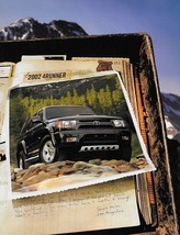 2002 Toyota 4RUNNER sales brochure catalog 02 SR5 Limited - $8.00
