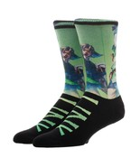 The Legend Of Zelda Link Video Game Sublimated over Knit Adult Crew Socks - $9.99