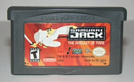 Nintendo Game Boy Advance - Samurai Jack - The Amulet Of Time (Game Only) - $10.00