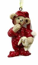 Holly Bearie Bedtime Bear Ornament - $17.33