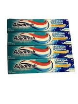 4x Aquafresh Extra Fresh Whitening w/ Flouride Tube Toothpaste 5.6 OZ Fresh Mint - $14.84