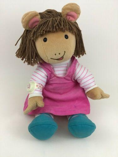 "Arthur DW Actimates Plush Interactive Talking Toy 22"" Doll Vintage 90s Microsoft"