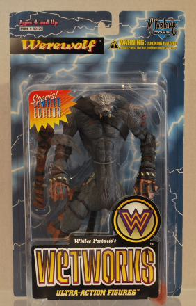 Werewolf Wetworks Series 1 Limited Edition Whilce Portacio 1995 McFarlane Toys