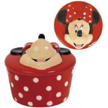 Walt Disney's Minnie Mouse 3-D Face Resin Jewelry Trinket Box NEW SEALED - $21.24