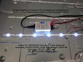 "Sanyo 55"" FW55025F LED Back Light Strip [B] Samsung_2014FUNAI55_3228_B06_Rev1.0_ - $12.00"