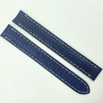 Cartier Authentic 12mm Blue Alligator Leather Strap for Deployant Clasp 6AIC2V04 - $149.00