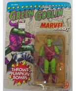 VINTAGE SEALED 1991 Toy Biz Green Goblin Pumpkin Bombs Action Figure - $23.12