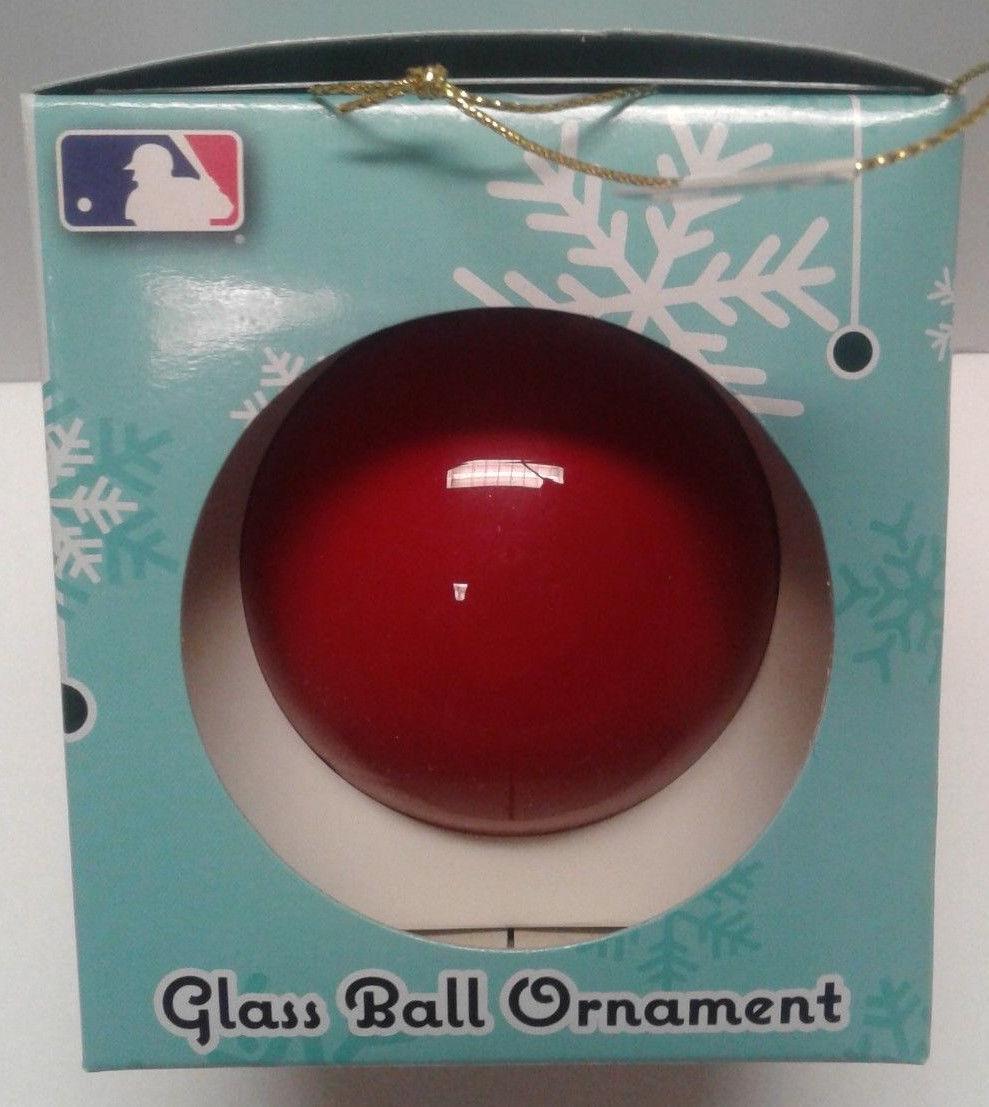 Washington Nationals Glass Ball Ornament MLB NEW Team Spirit Christmas Tree