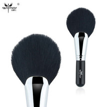 Anmor® Oval Angeld Fan Shape Large Powder Brush Extremely Smooth Soft Co... - $47.22