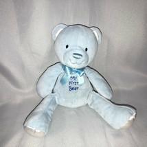 Prestige Stuffed Plush Blue My 1st First Teddy Bear Baby Boy Rattle Toy ... - $148.49