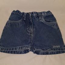 Blue Jeans Denim Shorts Size 3T Girls IZOD Summer Toddler - $9.99