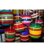 Balero Multi-Color Wood Mexican Traditional Toy Handmade New - $7.70