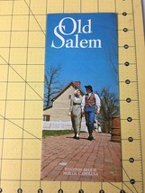 Vintage Travel Brochure Old Salem Winston-Salem North Carolina Tourism - $19.55
