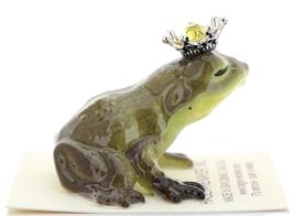 Hagen-Renaker Miniature Frog Prince Kissing Birthstone 11 November Topaz image 2