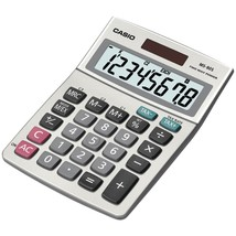 Casio Solar Desktop Calculator With 8-digit Display CIOMS80SSIH - $17.51
