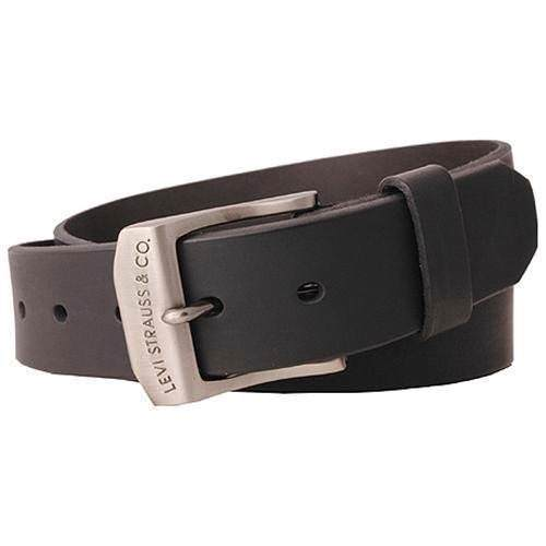 New Levi's Men's Stylish Classic Premium Genuine Leather Belt Black 11LV0204