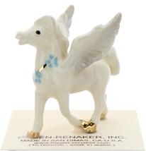 Hagen-Renaker Miniature Ceramic Pegasus Figurine Standing and Lying Set of 2 image 3