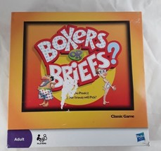 Boxers Or Briefs Party Game by Hasbro  2010 Edition  - $5.00