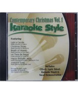 Contemporary Christmas Volume 1 Christian Karaoke Style NEW CD+G Daywind... - $15.76